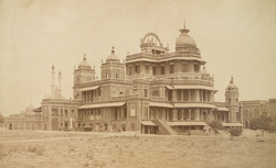 Kaiser Passund Palace from S. West, Lucknow.